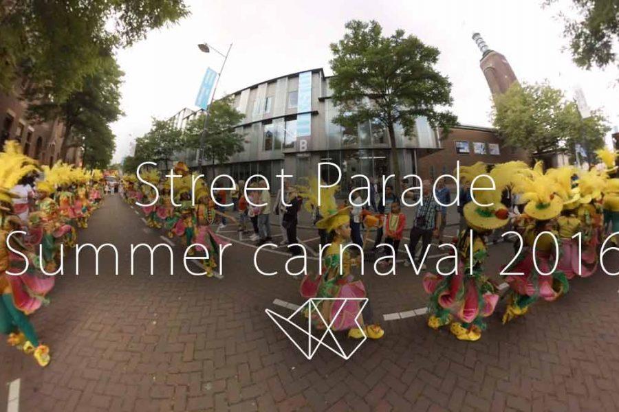 Straat Parade Zomercarnaval 2016